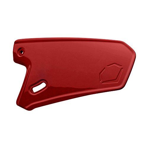 EvoShield XVT Batting Helmet Face Shield, Scarlet - Right Hand Hitter - Batting Helmet Fit