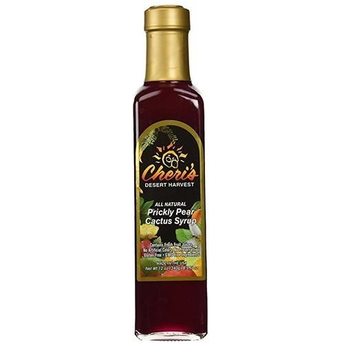 CHERIS DESERT HARVEST Prickly Pear Cactus Syrup, 12 OZ ()