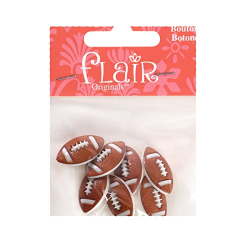 Blumenthal Lansing Company 550001806 Football Shaped Buttons, Frenzy, 7 Piece]()