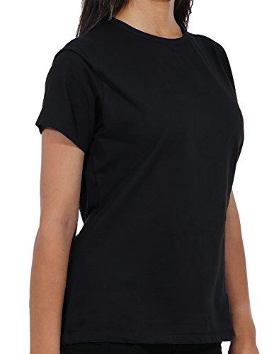 309ebda1439 NU Dimension Women 5080 Short Sleeve Cotton-Lycra Stretch Underscrub T-Shirt