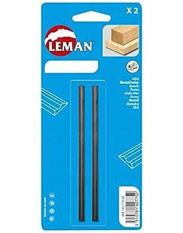 Leman 142.782.02 Pack de 2 Cuchillas de Cepillo, MD 82 x 5,