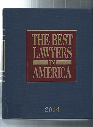 Book cover from The Best Lawyers in America 2014 by Steven Naifeh