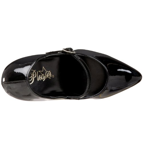 Pleaser VANITY-440 Blk Pat Size UK 6 EU 39