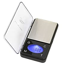 Smart Weigh ZIP600 Ultra Slim Digital Pocket Scale with Counting Feature, 600 by 0.1-Gram