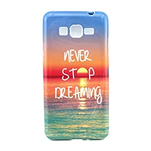 PowerQ Colorful TPU Pattern Series for SONY Xperia Z4 Case Bag Pattern Print Printing Drawing Cell Phone Case mobile Cover Soft Protect Skin (Z-Never Stop)