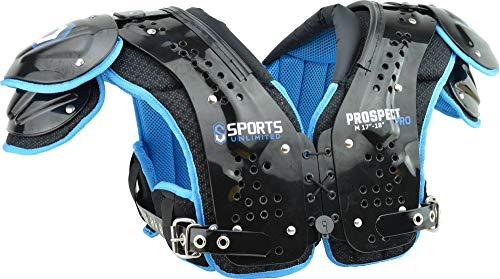 Sports Unlimited Prospect Pro Adult Football Shoulder Pads Adult Football Shoulder Pads