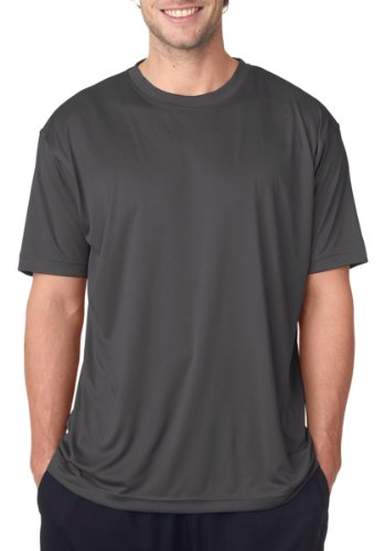 UltraClub mens Cool & Dry Sport Performance Interlock (Performance Dry T-shirt)