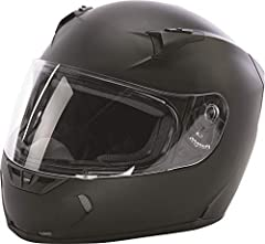 Distinct Name: Matte BlackGender: Mens/UnisexHelmet Category: StreetHelmet Type: Full-face HelmetsColor: Matte BlackSize: X-LargePrimary Color: BlackMeets or Exceeds DOT and Snell 2015. Durable and Lightweight Polycarbonate ABS Alloy Shell - ...