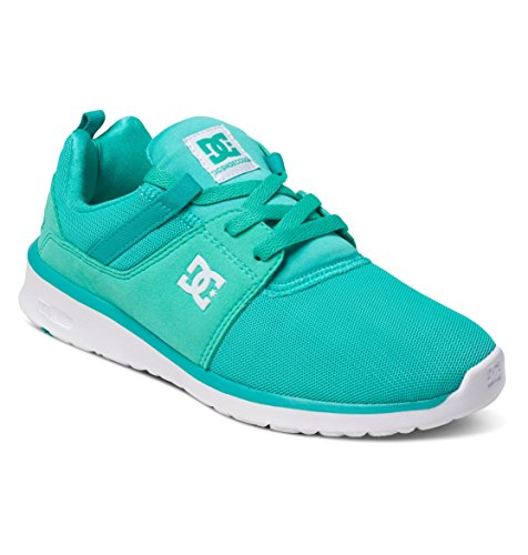 Sneaker Damen White DC Shoes Turquoise J Heathrow qPIZp