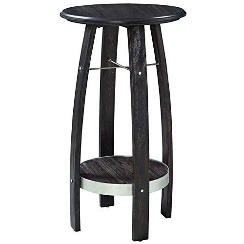 Powell Plant Stand - Powell Tuvia Plant Stand in Rustic Dark Brown