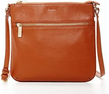 44de43852033 Brown Crossbody Bags For Women Leather Small Crossover Purse Over ...