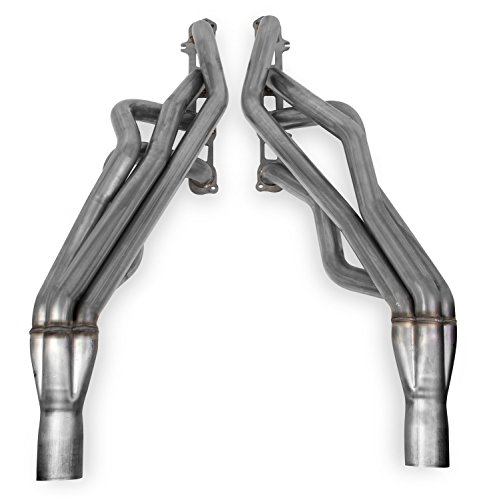 Blackheart Long Tube Headers 1.75 in. Tubing 3 in. Collector Size 304 Stainless Steel Natural Finish Blackheart Long Tube Headers (Stainless Finish Header)
