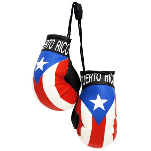 flagsandsouvenirs Boxing Gloves PUERTO RICO