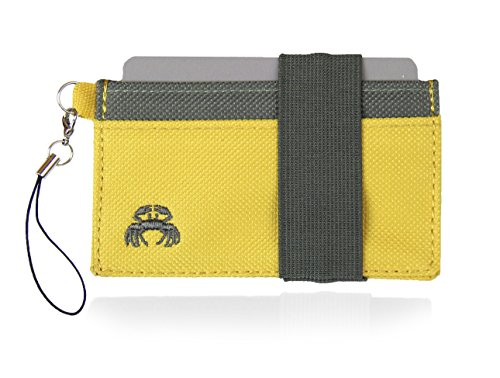 (Crabby Wallet - Thin Minimalist Front Pocket Wallet - C3 Canvas)