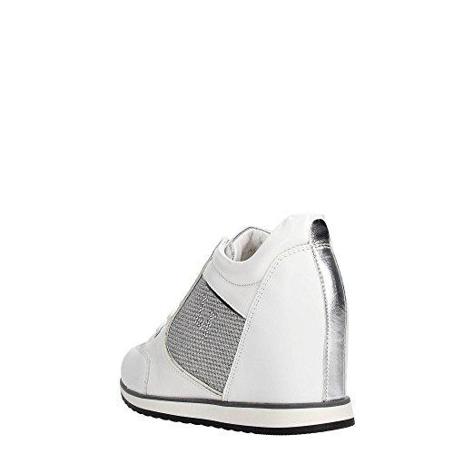 Lumberjack , Damen Sneaker Elfenbein Bianco