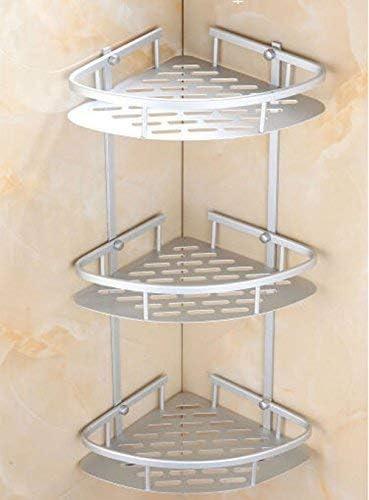 Triangular Shower Caddy Shelf Bathroom Corner Bath Storage Holder Rack Organizer