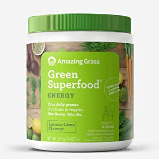 product image for Amazing Grass Energy Green Superfood Lemon Lime Flavor, 7.4-Ounce Tub
