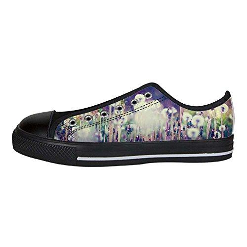 Le Delle Shoes Men's In Ginnastica Di Scarpe Custom Canvas Tela Da Alto Leone Sopra Lacci Dente I TW4Fc8O