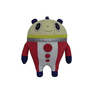 ": Great Eastern Persona 4 Teddie Kuma 8"" Stuffed Plush: Toys & Games"