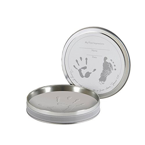 Stephan Baby Inspirational Clay Handprint/Footprint  Kit in Keepsake Tin by Stephan Baby