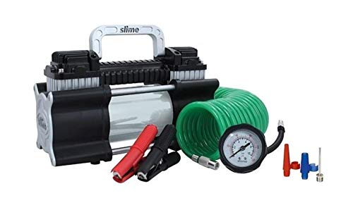 Slime 40026 2X Heavy Duty Direct Drive Tire Inflator by Slime