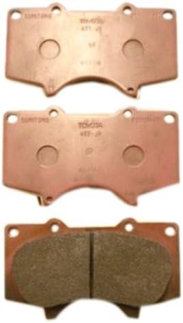 Japanparts PA-205AF Brake Pad Set disc brake