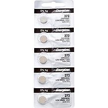 5 x Energizer 373 Watch Batteries, 1.55V, equivalent SR916SW, 916
