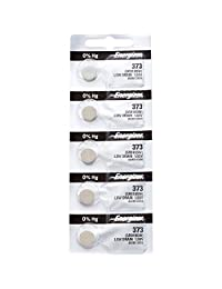 5 x Energizer 373 Watch Batteries, 1.55V, equivalent SR916SW, 916