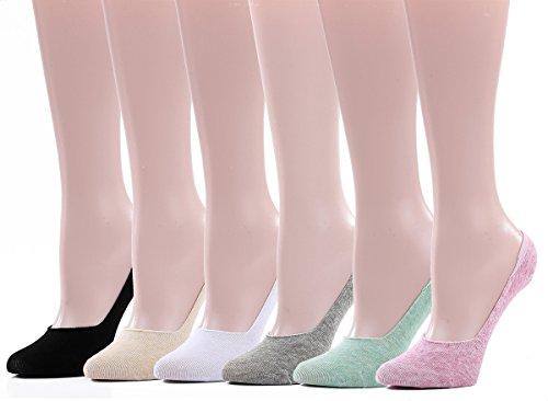 Leotruny Womens Anti Slip Liner 6 pack