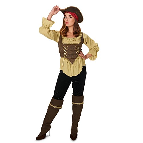 Renegade Pirate Queen Adult Costume - Creative Costumes Women