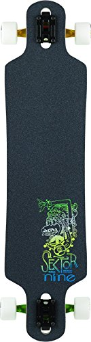 Sector 9 Bintang Complete Skateboard, Assorted (Carving Series Sector 9)
