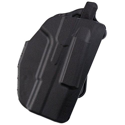 Safariland 7371 7TS ALS Slim, Concealment Holster w/Micro-Paddle, SafariSeven Black, Right Hand, Glock 43 9mm