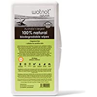 Wotnot Wipes with Travel Case, 20 Count