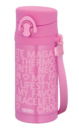 THERMOS Kids JNG-350-DP Pink | Thermal Stainless Mug 0.35 liter ( 11.8 oz.) (Japanese Import) by Thermos