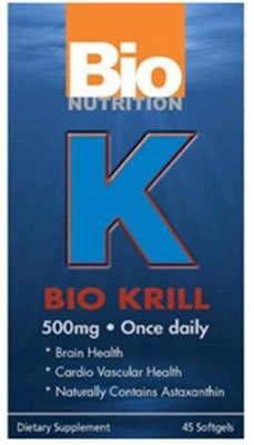 Bio Nutrition Inc, Bio Krill 500Mg, 45 sgel ( Multi-Pack) by Bio Nutrition