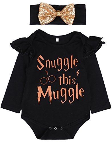 baby-girls-letter-printed-romper-long-sleeve-jumpsuit-playsuit-outfits-with-bow-knot-headband-black-