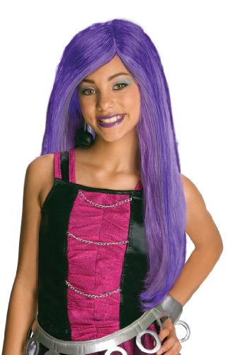 Spectra Vondergeist Costumes (Monster High Spectra Vondergeist Child's Wig)