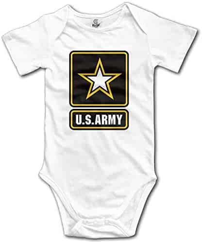051fca7f1 Us Army Logo Basic Military Strong Baby Onesie Newborn Clothes Outfits  Unisex