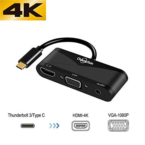 Picture of an USB C To HDMI VGA