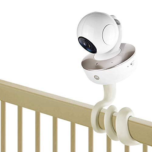 "WSpring Baby Monitor Mount for Motorola, Arlo, Baby Monitor Holder Compatible Most Universal Baby Monitor Camera with 1/4"" Threaded Hole"