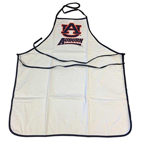 Auburn Tigers McArthur Sports White Navy Orange BBQ Tailgating Cooking Fan Apron by McArthur Towel & Sports