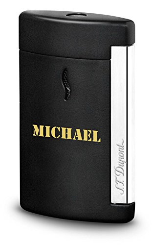 Personalized S.T. Dupont Minijet Matte Black Torch Flame Lighter with Free Engraving by S.T. Dupont (Image #7)