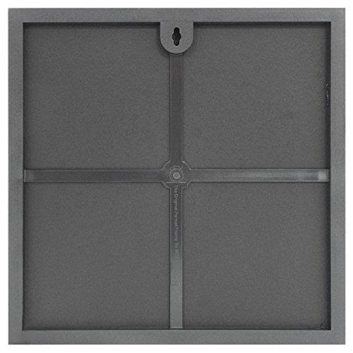 amazoncom mcs 12 x 12 inch format frame black luxury frames
