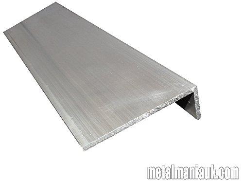 Aluminium unequal angle 3' x 1' x 1/8' x 500mm