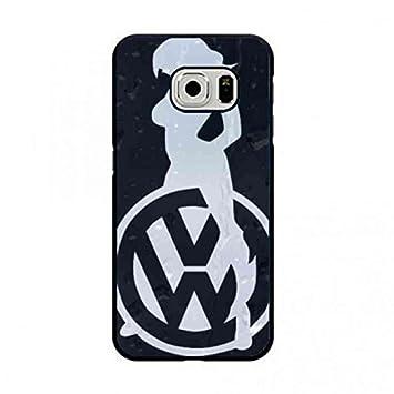 Volkswagen Logo Samsung Galaxy S7 Edge Carcasa/Funda ...