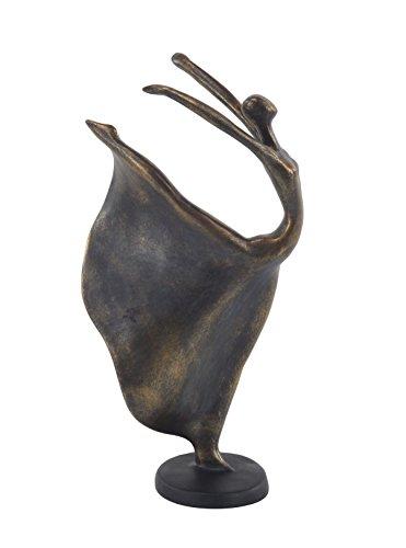 Deco 79 58356 Sculpture, Brass
