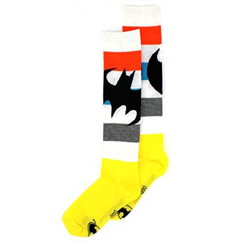 Batgirl Womens Knee High Socks (9-11 (Shoe: 4-10), Batgirl)