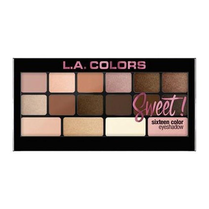 怖がって死ぬスパーク従う(6 Pack) L.A. Colors Sweet! 16 Color Eyeshadow Palette - Charming (並行輸入品)
