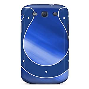 Protector Cell-phone Hard Cover For Samsung Galaxy S3 With Unique Design High Resolution Indianapolis Colts Pattern IanJoeyPatricia