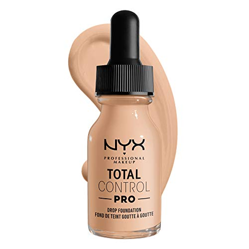 NYX PROFESSIONAL MAKEUP Total Control Pro Drop Foundation, Vanilla